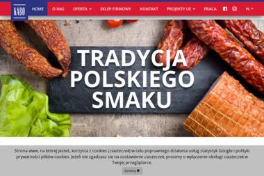 Zakład Mięsny Kabo A Borowik w Karpieszuk Sp.J. - E-marketing Choroszcz