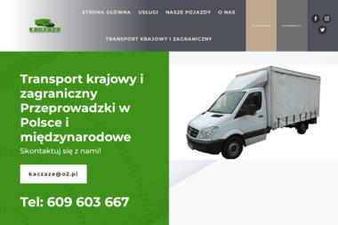 Handel Obwoźny i Usługi Transportowe Marcin Browarczyk - Transport Dostawczy Kościerzyna