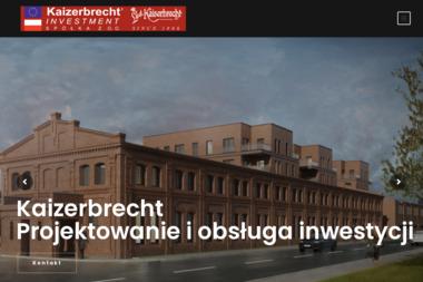 Kaizerbrecht Investment Krystian Kaizerbrecht - Projekty domów Sosnowiec