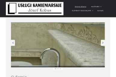 Usługi Kamieniarskie Józef Kobus - Blaty kamienne Brzozowa Gać