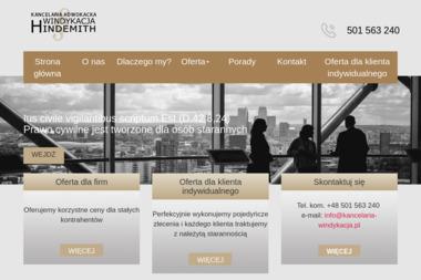 Kancelaria Adwokacka Piotr Hindemith - Skup długów Warszawa