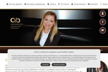 Kancelaria Prawa Podatkowego Doradca Podatkowy dr Agata Błaszczyk - Biuro rachunkowe Mysłowice