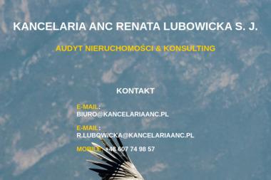 Kancelaria Anc Renata Lubowicka - Prowadzenie Ksiąg Rachunkowych Mysiadło