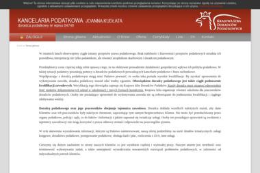 Kancelaria Podatkowa Joanna Kudłata - Prowadzenie Ksiąg Rachunkowych Jawor