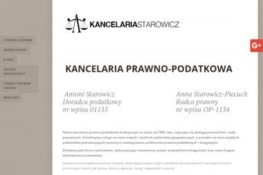 Kancelaria Prawno-Podatkowa Antoni Starowicz - Biuro rachunkowe Myszków