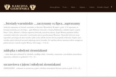 Karczma Warmińska S.C. - Gastronomia Gietrzwałd