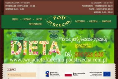 Restauracja Karczma Pod Strzech膮 - Catering P艂ock