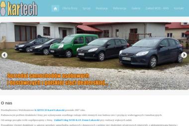 Kartech. Usługi koparko-ładowarką, przyłącza kanalizacyjne - Odśnieżanie dachów Starachowice