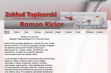 Sklep Meblowy, Kicior Roman. Meble, producent mebli - Renowacja Mebli Radom