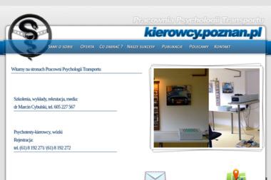 Pracownia Psychologii Transportu. Marcin Cybulski - Psycholog Mosina