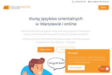 Kierunek Wschód - Centrum Językowe - Kurs rosyjskiego Warszawa