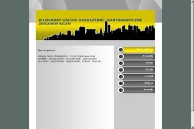Kilen Kart Usługi Geodezyjno Kartograficzne Kilen Zbigniew - Firma Geodezyjna Wyszków