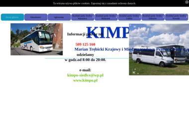 Transport Międzynarodowy Przewóz Osób Marian Trębicki - Przewóz osób Siedlce