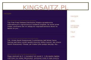 King Sajtz Piotr Grom - Agencja interaktywna Łuków