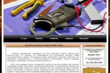 Instalatorstwo Elektryczne Pomiary Automatyka Bogdan Klich - Elektryk Leszno