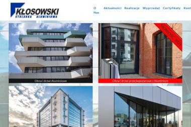 Kłosowski. Producent Stolarki Alumniowej - Stolarz Pysznica
