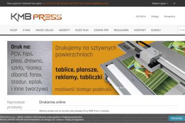 KMB press - Druk wielkoformatowy Katowice