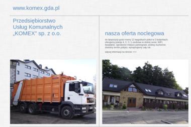 Przedsiębiorstwo Usług Komunalnych Komex Sp. z o.o. - Odśnieżanie Jastarnia