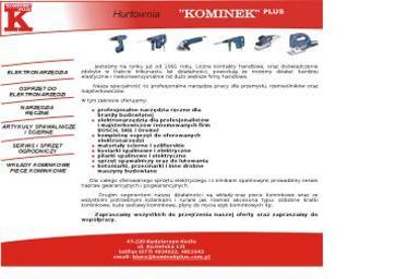 Hurtownia art. przem. i Bud Kominek Plus S.C. Kolasa G Kolasa A - Pogotowie Hydrauliczne Kędzierzyn-Koźle
