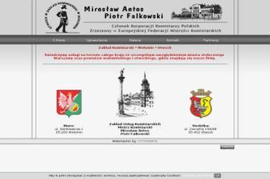 Zakład Kominiarski Mirosław Antos - Pozycjonowanie stron Wołomin