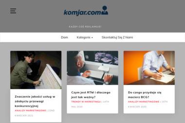 Komjar. Serwis komputerowy, serwis komputerów - Serwis komputerowy Bydgoszcz