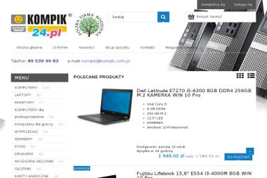 Andrzej Burzyński FHU Kompik - Serwis Laptopów Dobre Miasto