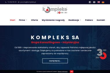 Grupa Konsultingowo Inżynieryjna Kompleks S.A. - Hydraulik Wałbrzych
