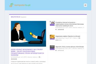Pracownia Komputerowa grupa komputerTu.pl - Pogotowie Komputerowe Grudziądz