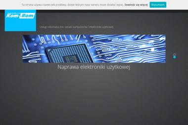 Marcin Romaniak Usługi Informatyczne Kom-Rom. Serwis komputerów, sprzedaż komputerów - Agencja interaktywna Kotuń