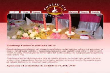 KONRAD CIS Restauracja - Firma Gastronomiczna Chorzów
