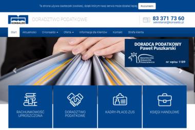 Biuro Rachunkowe Konsaldo Puszkarski Paweł - Usługi finansowe Międzyrzec Podlaski