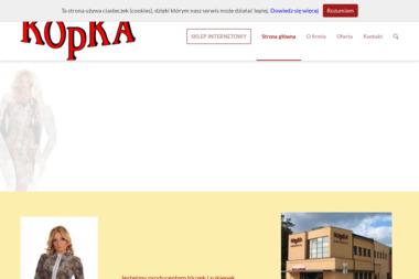 Firma Konfekcyjna Kopka Włodzimierz Kopka - Odzież Łask