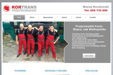 Kor-Trans PRZEPROWADZKI - Firma transportowa Konin