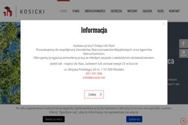 Grzegorz Kosicki Sp. z o.o. - Geodeta Kłodzko