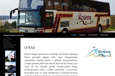Usługi Autokarowe Brunon Kosiróg - Firma transportowa Żarnowiec