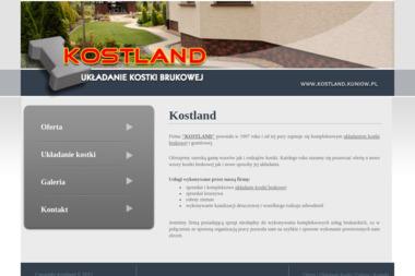 Wiecha Waldemar Kostland Układanie Kostki Brukowej - Układanie kostki granitowej Kuniów