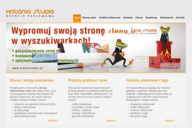 Kotania Studio. Strony internetowe - Strona Internetowa Łobodno