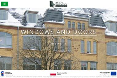 Robert Kowalski Karol Kowalski Stolarstwo. Drzwi drewniane, okna drewniane - Okna Szymanowo