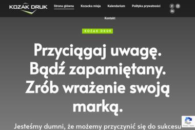 Kozak Druk Przemysław Kozak Bożena Kozak - Drukarnia Siedlce