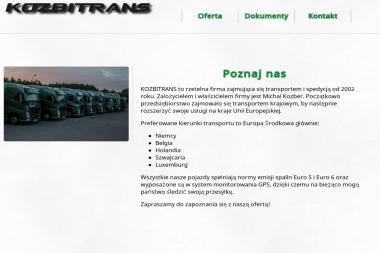 Firma Usługowo Handlowa Michał Kozber - Transport busem Konin