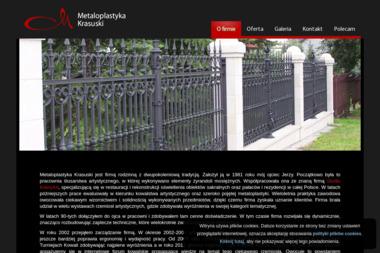 METALOPLASTYKA Krasuski - Płoty Metalowe Mosina