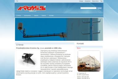 Przedsiębiorstwo Kromiss Sp. z o.o. - Hale Stalowe Częstochowa