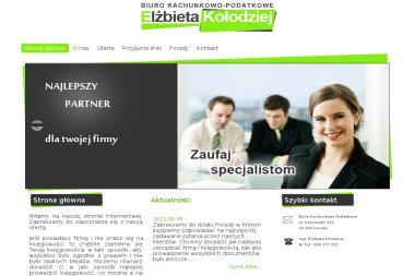 Biuro Rachunkowo Podatkowe mgr Elżbieta Kołodziej - Usługi Księgowe Tarnów