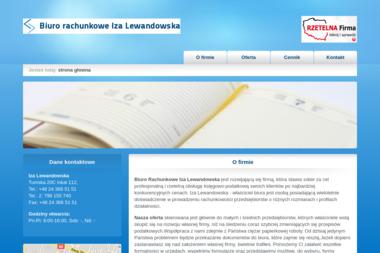 Biuro Rachunkowe Iza Lewandowska - Usługi finansowe Płock
