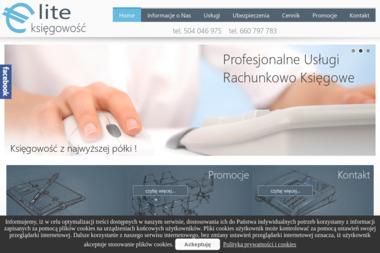 Firma E-lite. Ubezpieczenia, biuro rachunkowe - Ubezpieczenia OC Cz臋stochowa