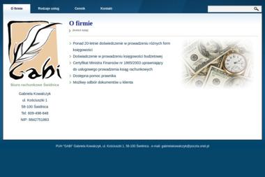 Biuro Rachunkowe Gabi - Prowadzenie Kadr i Płac Świdnica