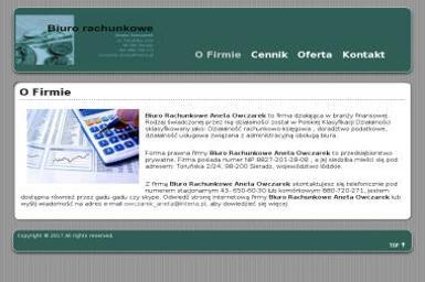 Biuro Rachunkowe Aneta Owczarek - Księgowy Sieradz