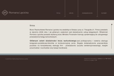Biuro Rachunkowe Romana Lęcicka - Biuro rachunkowe Sierpc