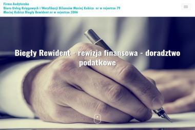 Biuro Usług Księgowych i Weryfikacji Bilansów Maciej Kubica - Finanse Dębica