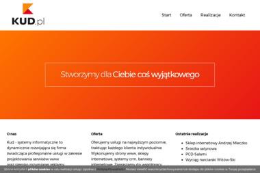 KUD - Strona Internetowa Nowy Targ